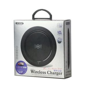 Charger Wireless WK Fuln WP-U45 10W Black | MOBILE COMPONENTS | elabstore.gr