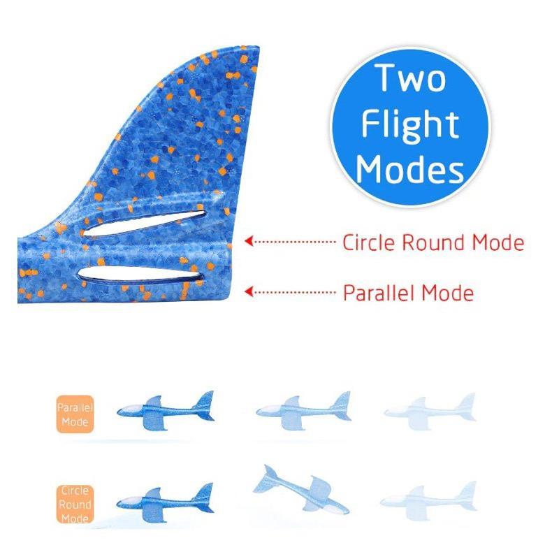 Συναρμολογούμενο αεροπλάνο από φελιζόλ AIR-005, 49x48cm, μπλε | Παιχνίδια | elabstore.gr