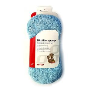 AMIO Σπόγγος καθαρισμού 2 επιφανειών με μικροΐνες 01746, μπλε | Gadgets | elabstore.gr
