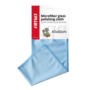 AMIO πανί καθαρισμού από μικροΐνες AMIO-01749 40x60cm, μπλε | Gadgets | elabstore.gr
