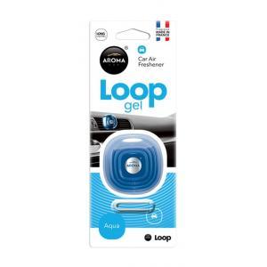 AROMA CAR Αρωματικό αυτοκινήτου Loop Gel 63114, 27γρ, Aqua | Gadgets | elabstore.gr