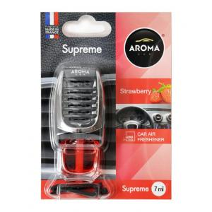AROMA CAR Αρωματικό αυτοκινήτου Supreme 92139, Strawberry | Gadgets | elabstore.gr