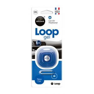 AROMA CAR Αρωματικό αυτοκινήτου Loop Gel 92898, 27γρ, New Car | Gadgets | elabstore.gr