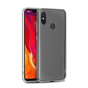 IPAKY Θήκη Effort TPU & tempered glass IPK-037 για Xiaomi Mi 8, διάφανη | Αξεσουάρ κινητών | elabstore.gr