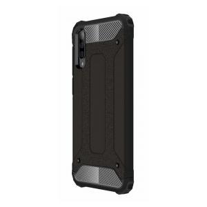 POWERTECH θήκη Hybrid Protect MOB-1323 για Samsung Galaxy A50, μαύρη | Αξεσουάρ κινητών | elabstore.gr