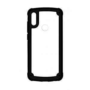 POWERTECH Θήκη Frame PC & TPU MOB-1331 για Samsung Galaxy A40, μαύρη | Αξεσουάρ κινητών | elabstore.gr