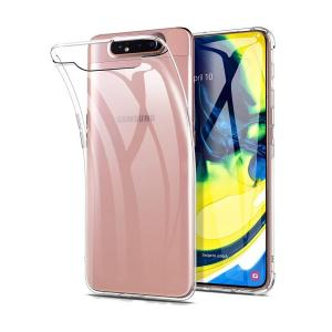 POWERTECH Θήκη Clear 0.5mm TPU MOB-1368 για Samsung Galaxy A80, διάφανη | Αξεσουάρ κινητών | elabstore.gr