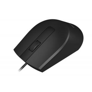 PHILIPS ενσύρματο ποντίκι SPK7104-BK, 1200DPI, USB, 3 πλήκτρα, μαύρο | Συνοδευτικά PC | elabstore.gr