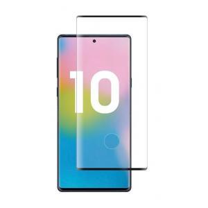 POWERTECH Tempered Glass 3D για Samsung Note 10, mini, half glue, μαύρο | Αξεσουάρ κινητών | elabstore.gr