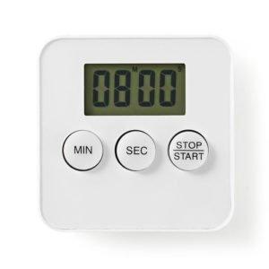 NEDIS KATR101WT Kitchen Timer Digital Display White   ΜΙΚΡΟΣΥΣΚΕΥΕΣ / ΕΠΟΧΙΑΚΑ / ΛΕΥΚΕΣ ΣΥΣΚΕΥΕΣ   elabstore.gr