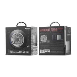 Speaker BT WK D6 Black   PORTABLE SPEAKERS   elabstore.gr