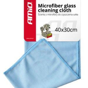 AMIO πανί καθαρισμού από μικροΐνες AMIO-01747 30x40cm, μπλε | Gadgets | elabstore.gr