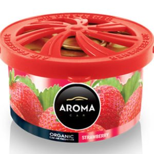 AROMA CAR αρωματικό αυτοκινήτου Organic A92091, 40g, Strawberry | Gadgets | elabstore.gr