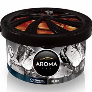 AROMA CAR αρωματικό αυτοκινήτου Organic A92103, 40g, Black | Gadgets | elabstore.gr