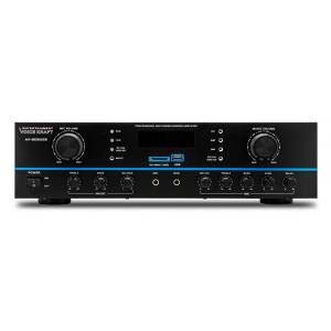 VOICE KRAFT ενισχυτής ηχείου AV-808USB, 2x 50RMS, bluetooth/USB/SD/FM | Εικόνα & Ήχος | elabstore.gr