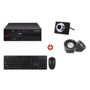 Bundle BNDL-0028 LENOVO PC με ποντίκι, πληκτρολόγιο, ηχεία, cam | Refurbished PC & Parts | elabstore.gr