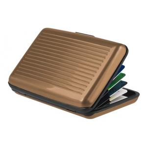INTIME πορτοφόλι προστασίας ανάγνωσης πιστωτικών καρτών IT-019, καφέ | Οικιακές & Προσωπικές Συσκευές | elabstore.gr