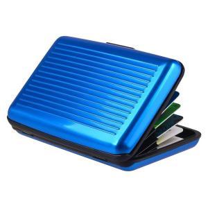 INTIME πορτοφόλι προστασίας ανάγνωσης πιστωτικών καρτών IT-020, μπλε | Οικιακές & Προσωπικές Συσκευές | elabstore.gr