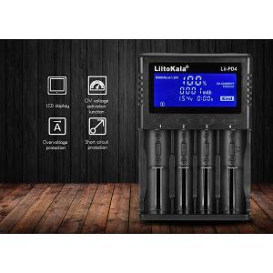LIITOKALA φορτιστής LII-PD4 για μπαταρίες NiMH/CD, Li-Ion, IMR, 4 slots | Μπαταρίες | elabstore.gr