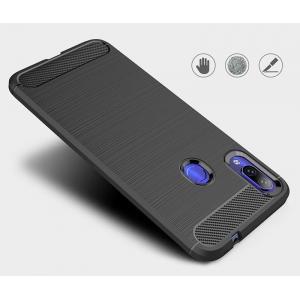 POWERTECH Θήκη Carbon Flex MOB-1374 για Xiaomi Redmi 7, μαύρη | Αξεσουάρ κινητών | elabstore.gr