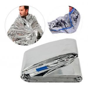Θερμική κουβέρτα εκτάκτου ανάγκης AG404, 130 x 210cm, ασημί   Gadgets   elabstore.gr