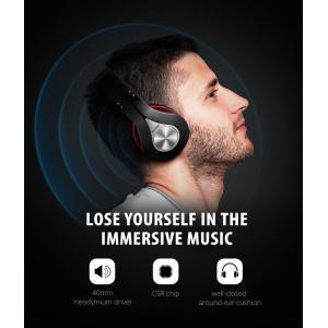 MPOW bluetooth headphones 059, 40mm, wireless & wired, μαύρο-κόκκινο | Αξεσουάρ κινητών | elabstore.gr