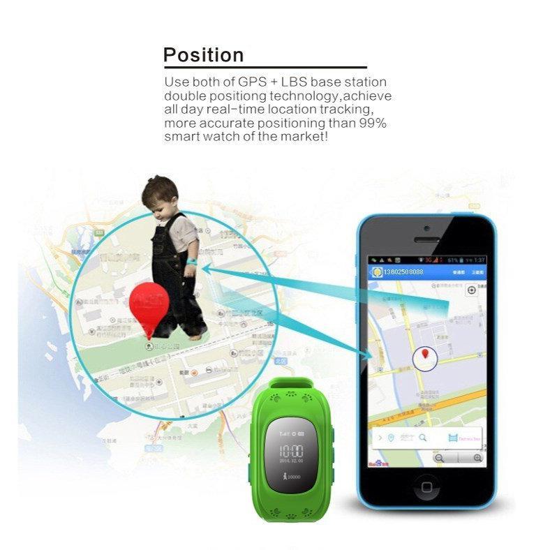 INTIME GPS Παιδικό ρολόι χειρός IT-023, SOS, βηματομετρητής, σκούρο μπλε | GPS | elabstore.gr