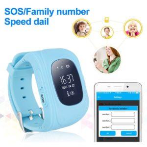 INTIME GPS Παιδικό ρολόι χειρός IT-024, SOS, βηματομετρητής, μπλε | GPS | elabstore.gr