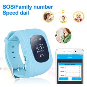 INTIME GPS Παιδικό ρολόι χειρός IT-025, SOS, βηματομετρητής, πράσινο | GPS | elabstore.gr