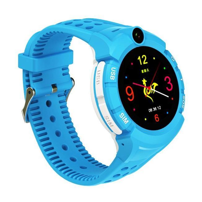 INTIME GPS Παιδικό ρολόι χειρός IT-029, SOS, βηματομετρητής, μπλε | GPS | elabstore.gr