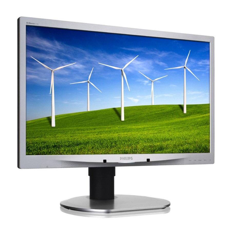 "PHILIPS used οθόνη 231B4 LED, 23"" Full HD, VGA/DVI-D/DP, με ηχεία, FQ | Refurbished PC & Parts | elabstore.gr"