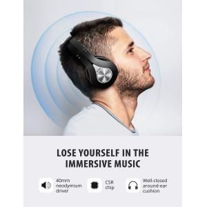 MPOW bluetooth headphones 059, 40mm, wireless & wired, γκρι | Αξεσουάρ κινητών | elabstore.gr