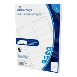 MEDIARANGE Ετικέτες πολλαπλών χρήσεων MRINK146, 99.1x38.1mm, 700τμχ | Αναλώσιμα - Είδη Γραφείου | elabstore.gr