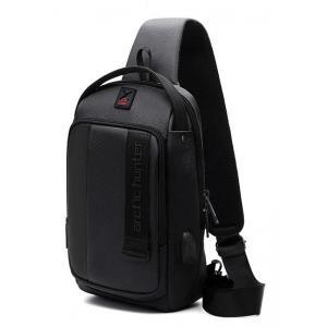 ARCTIC HUNTER Τσάντα Crossbody XB00100-BK, USB, αδιάβροχη, μαύρο | Οικιακές & Προσωπικές Συσκευές | elabstore.gr