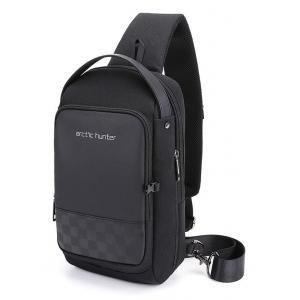 ARCTIC HUNTER Τσάντα Crossbody XB00105-BK, USB, αδιάβροχη, μαύρο | Οικιακές & Προσωπικές Συσκευές | elabstore.gr