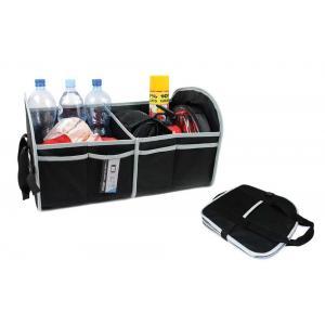 VERTEX Θήκη οργάνωσης αυτοκινήτου 71769 με velcro, 54 x 31 x 30cm, μαύρη | Gadgets | elabstore.gr