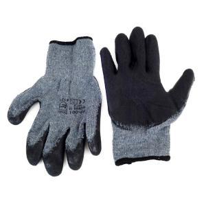 Αντιολισθητικά γάντια εργασίας 02047, γκρι-μαύρο | Gadgets | elabstore.gr