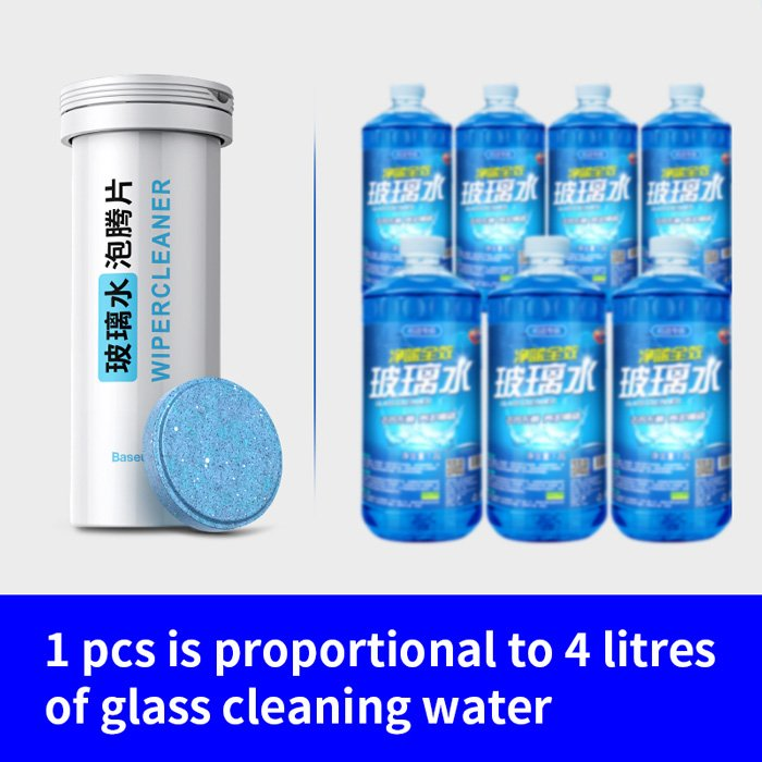 BASEUS ταμπλέτες καθαρισμού CRBLS-02 για δοχείο υαλοκαθαριστήρων | Gadgets | elabstore.gr