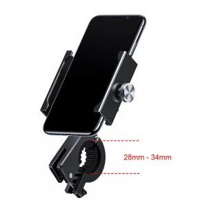 BASEUS βάση μηχανής για smartphone CRJBZ-01 Knight, μεταλλική, μαύρη | Αξεσουάρ κινητών | elabstore.gr