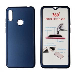 POWERTECH Θήκη Body 360° με Tempered Glass για Huawei Y6/Pro 2019, μπλε | Αξεσουάρ κινητών | elabstore.gr