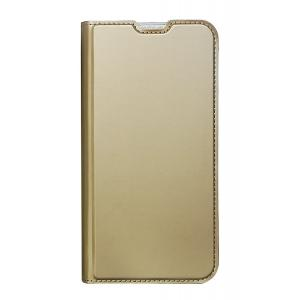 POWERTECH Θήκη Βook Elegant MOB-1444 για Samsung A30S, χρυσή | Αξεσουάρ κινητών | elabstore.gr