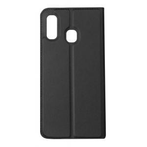 POWERTECH Θήκη Βook Elegant MOB-1445 για Samsung A40, μαύρη | Αξεσουάρ κινητών | elabstore.gr
