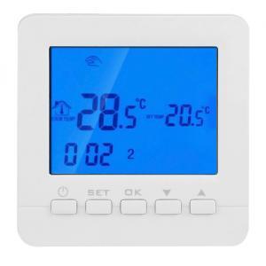 POWERTECH Έξυπνος θερμοστάτης καλοριφέρ PT-784, WiFi, touch screen | Οικιακές & Προσωπικές Συσκευές | elabstore.gr