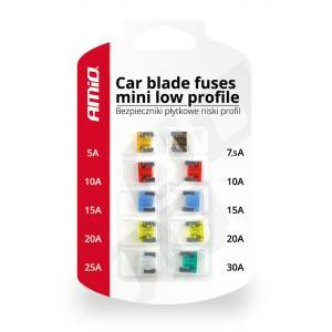 AMIO set mini μαχαιρωτών ασφαλειών αυτοκινήτου 02216, 10τμχ | Gadgets | elabstore.gr