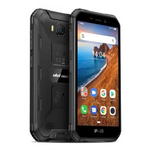 "ULEFONE Smartphone Armor X6, IP68/IP69K, 5"", 2/16GB, Quad-core, μαύρο   Mobile Συσκευές   elabstore.gr"