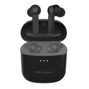 HIFUTURE earbuds FlyBuds, true wireless, με θήκη φόρτισης, μαύρα | Αξεσουάρ κινητών | elabstore.gr