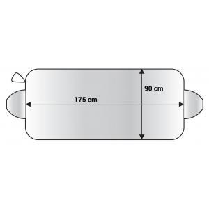AMIO Ηλιοπροστασία παρμπρίζ αυτοκινήτου 01390, 175x90cm | Gadgets | elabstore.gr