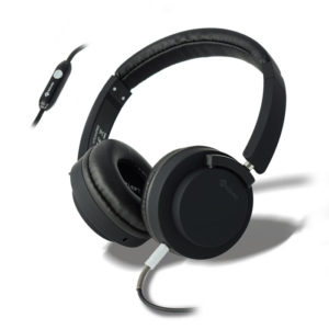 MELICONI MYSOUND SPEAK PRO BLACK ON-EAR STEREO HEADPHONE (WITH MICROPHONE) | SMARTPHONES / TABLETS / GPS | elabstore.gr