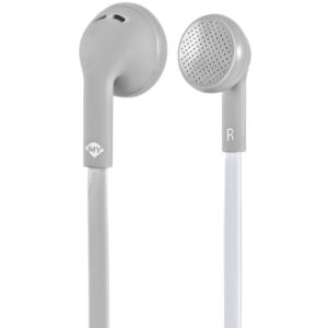 MELICONI MYSOUND SPEAK FLAT BICOLOR GREY/WHITE IN-EAR STEREO HEADSET (WITH MICRO   SMARTPHONES / TABLETS / GPS   elabstore.gr