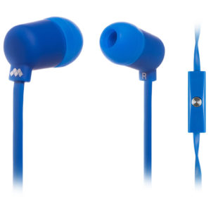 MELICONI MYSOUND SPEAK FLUO BLUE IN-EAR STEREO HEADSET (WITH MICROPHONE) | SMARTPHONES / TABLETS / GPS | elabstore.gr